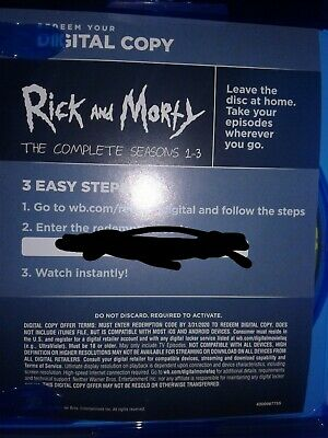 Rick And Morty Season 1 Digital Code