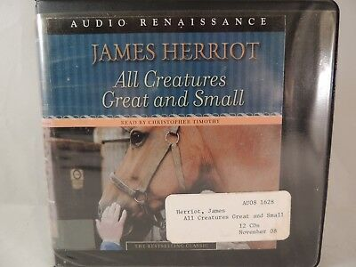 All Creatures Great and Small unabridged audiobook by James Herriot CD format