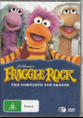 Fraggle Rock - Complete 4Th Season 4 Discs - New & Sealed R4 Dvd Free Local Post