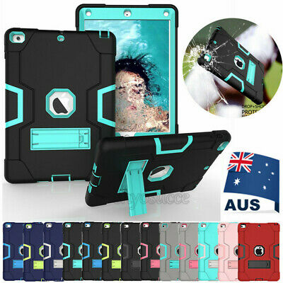 "AU Heavy Duty Shockproof Case Cover For New iPad 5/6th Generation 9.7"" 2017 2018"