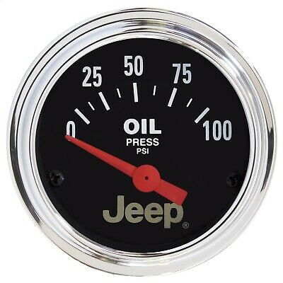 AutoMeter 880240 Jeep Electric Oil Pressure Gauge