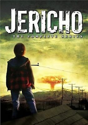 Jericho Complete Science Fiction TV Series - Season 1-2 + Special Features DVD