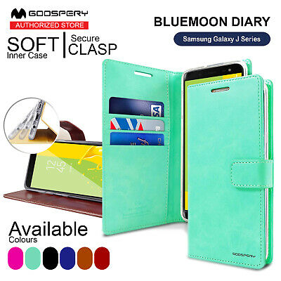 MERCURY Wallet Case For Samsung J8 J2 J6 J5 J1 PU Leather BLUEMOON DIARY Cover