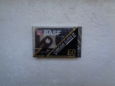 Vintage Audio Cassette BASF Chrome Super 60 * Rare From Germany 1991 *