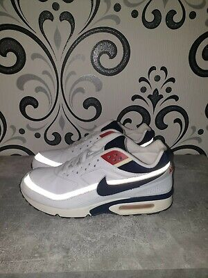 a748eecd04 Nike Air Max Classic Bw Leather White Mid-Navy Rare 2000 Neu Ungetragen mit  OVP