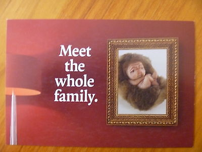 """Postcard...patricia Piccinini...""""The Offering""""...Mysterious Baby Creature"""