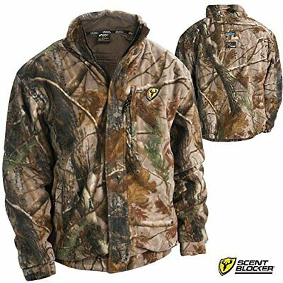 b424a69b40752 ROBINSON OUTDOORS SCENT Blocker Windtec Jacket Ap Large - $72.79 ...