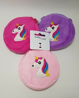 Kids Girls Children Cute Zip Purse Coins**Owl/Unicorn/Puppy/Cat**UK Stock**