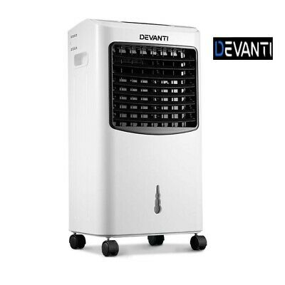Devanti 8.5L Evaporative Air Cooler Portable Fan Conditioner Cool Mist w/Remote