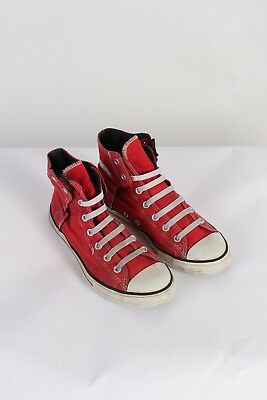2689f6fb3887d VINTAGE CONVERSE ALL Star Montantes TAILLE M 5.5 F 7.5 Rouge S398 ...