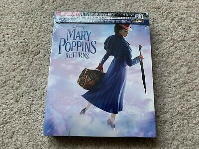 Mary Poppins Returns (4K Ultra HD/Blu-ray/Digital) Target Exclusive + Book