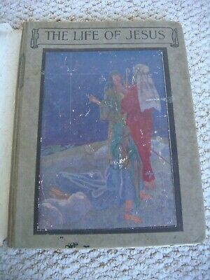 """1st Edition 1921 """"The Life of Jesus"""" Retold by Helen Ward Banks"""