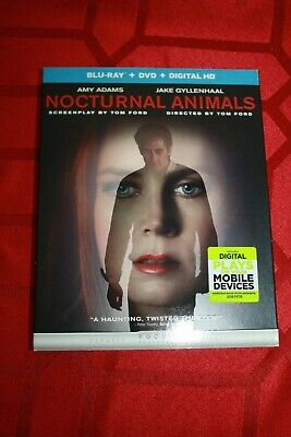 Nocturnal Animals (Dvd) - New - Open Package - New Bluray Case And Slipcover!!
