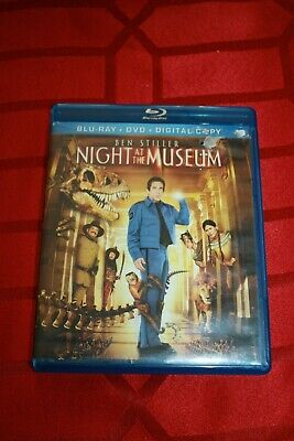 Night At The Museum(Dvd) - New - Open Package - New Bluray Case And Slipcover!!