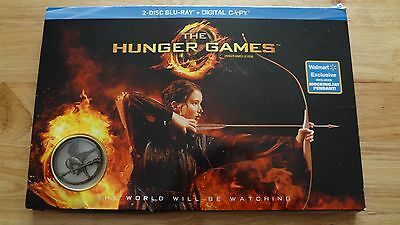 Walmart Exclusive Blu-Ray The Hunger Games Gift Set w/Mockingjay Pendant!