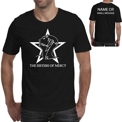 Sisters Of Mercy T-Shirt Siebdruck The Worlds Ende Simon Pegg Retro 80er Jahre