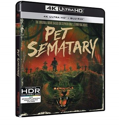 Pet Sematary (30th Anniversary) (4K Ultra HD + Blu-ray) [UHD]