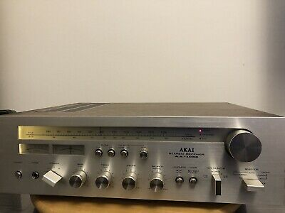 Akai Aa-1030 Vintage Receiver Tuner / Amplifier Top Funktion