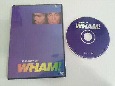 Wham ! The Best Of Wham George Michael Dvd + Extras