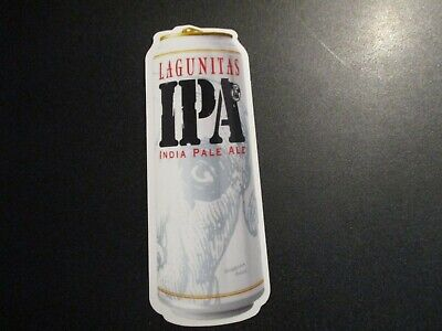 LAGUNITAS BREWING IPA Can STICKER label decal craft beer brewery