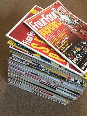 40 Copies Of Four Four Two Magazine 2013 - 2016 - Collect Leeds
