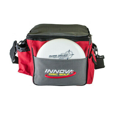 New Innova Disc Golf Standard Bag Red / Black / Grey Holds Up To 12 Disc