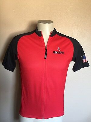 HINCAPIE MENS MEDIUM US Post Office Cycling Jersey Made in Italy ... 777d58bfe