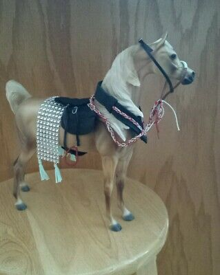 Breyer custom Arabian or dancing horse saddle set