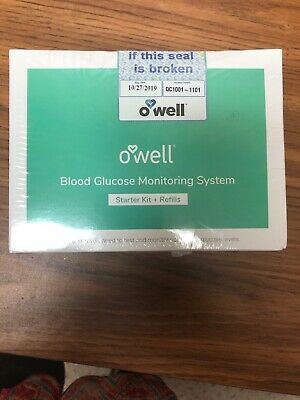 O'Well Tyson Blood Glucose Monitoring System   Starter Kit & Refills, 100 count