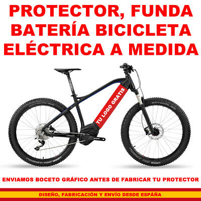 Bicicleta Batería Funda Protector Battery Cover Integrado a medida custom bike