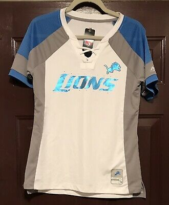 9315 WOMENS APPAREL DETROIT LIONS Polyester Football Jersey Shirt  for sale