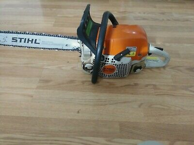 STIHL MS 391 chainsaw with a slight muffler mod