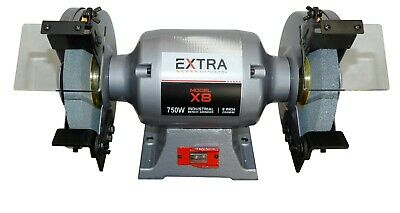 Industrial Bench grinder 750W & 200mm x 25mm wheel(show With Optional Stand)