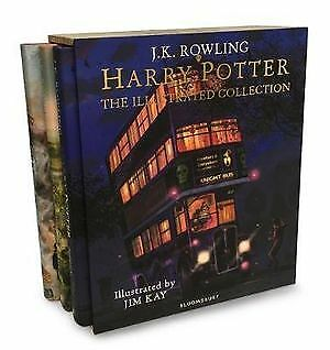 Harry Potter - The Illustrated Collection By J.K. Rowling, Jim Kay