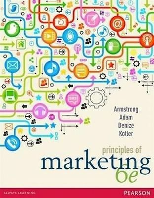 Principles of Marketing By Gary Armstrong Paperback