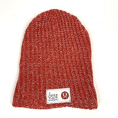 aba78a81bea LOVE YOUR MELON Knitted Cotton Winter Hat Beanie Brown Leather Patch ...