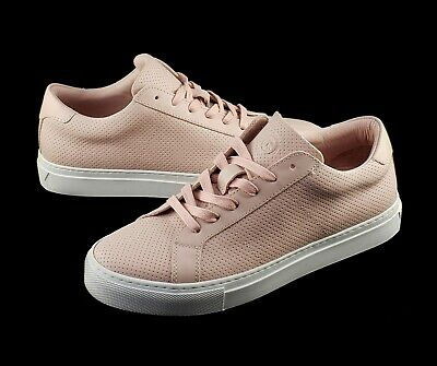 f0c3538a1894 NEW Greats Royale Womens Shoes Blush Perforated Leather Italian Sneaker  Size 6