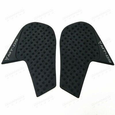 New Motorcyle Tank Traction Side Pad Knee Grip Decal For YAMAHA MT-09 FZ09 14-16