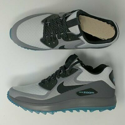NIKE AIR ZOOM 90 IT Golf Shoes Cleats Platinum Anthracite 844569-004 ... 144920959