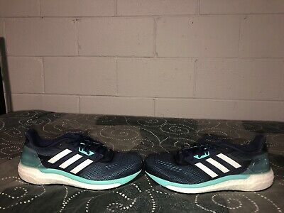 47a65fd8b Adidas Supernova Boost Glide 9 Womens Athletic Running Shoes Size 9.5 Blue  White