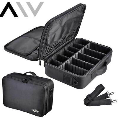 AW Cosmetic Makeup Bag Beauty Case Large Travel Toiletry Wash Storage Organizer
