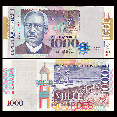 Coins & Paper Money Imported From Abroad Haiti 500 Gourde 2016 P 277 New Date And Sign Unc North & Central America