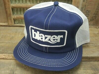 eb09166915e62 Vintage BLAZER Mesh Snapback Trucker Hat Cap Patch K PRODUCTS Made In USA