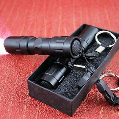 Mini 3W LED Super Bright Flashlight Medical Light Small Torch Lamp Keychain UP