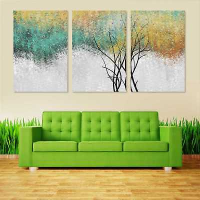 Colorful Forest Canvas Painting Picture Wall Art Home Room Decor No Frame #0304