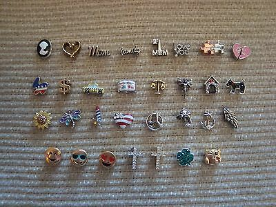 """Authentic Origami Owl  """"Your Choice"""" of Charms (some HTF) """"New""""  #C9  >?#"""