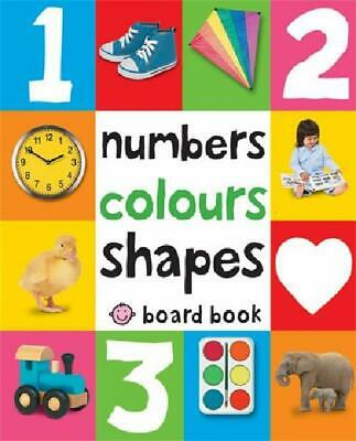 Baby Early Learning Book Numbers,Colours,Shapes First 100 Words Toddler Kid