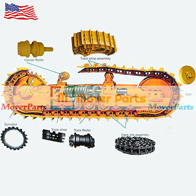 Undercarriage Parts Track Link Idler Sprocket Roller for Hitachi EX60-5 in USA