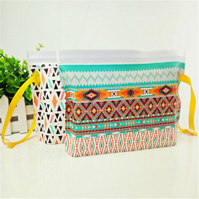 Wipes Carrying Case Eco-friendly Wet Wipes Bag Clamshell Cosmetic Pouch ATAU