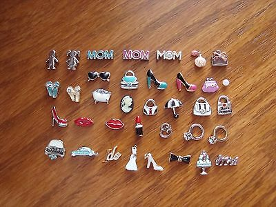 """Authentic Origami Owl """"Your Choice"""" of Charms - Ladies/Mom/Wedding (#1) +A?#"""